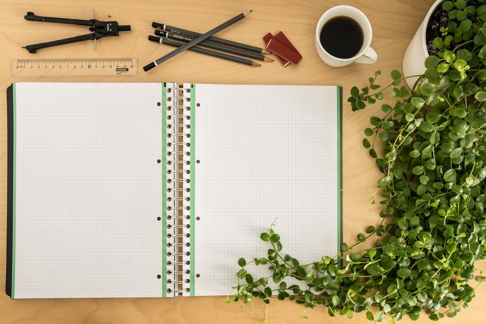 art materials blank business coffee